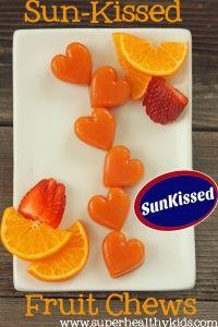 Sun-Kissed Fruit Chews {100% Fruit} | Healthy Ideas for Kids