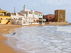Punta Secca Beach with Montalbano House, Sicily, Italy