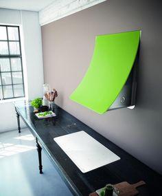 Wall-mounted steel cooker hood NUAGE By Elica design Fabrizio Crisà Kitchen Furniture, Kitchen Interior, Kitchen Design, Kitchen Ideas, Beautiful Kitchens, Cool Kitchens, Design Awards, Design Trends, Houses