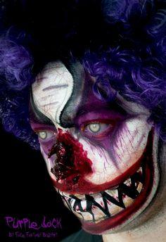Sfx Horrorclown Halloween Schmink  Face Fantasy | BodyArt Amersfoort