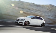 The new Mercedes- Benz A 45 AMG