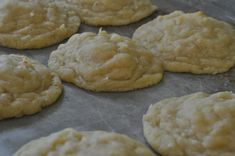 coconut butter cookies