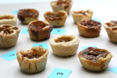 Butter Tarts tasting, #buttertarts Butter Tarts, Cheesecake, Muffin, Breakfast, Sweet, Desserts, Food, Morning Coffee, Candy