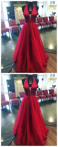 Simple Prom Dresses,New Prom Gown,Vintage Prom Gowns,Burgundy v neck long prom dress, burgundy evening dress P0914 #promdresses #longpromdress #2018promdresses #fashionpromdresses #charmingpromdresses #2018newstyles #fashions #styles #hiprom #prom #burgundy