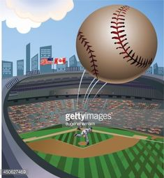 ball flying out of stadium - Google Search Work Inspiration, Baseball Field, Google Search