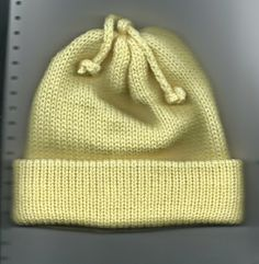 Marzipanknits: Shortcuts to Machine Knit Charity Hats