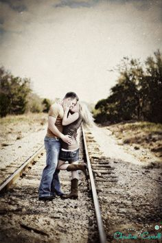 engagement and railroad tracks - Google Search