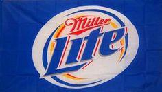 MILLER LITE BEER FLAG by Sportsworld. $9.99. BRASS GROMMETS. DOUBLE STITCHED. Premium Heavy Duty Polyester/Nylon 3'x5' Flag. Vivid Colors. Premium Quality. MILLER LITE PREMIUM FLAG