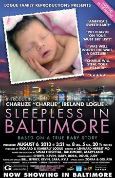 Custom Movie Poster Baby Announcement. www.5starbaby.com #baby #newborn #girl #birth_announcements #announcements