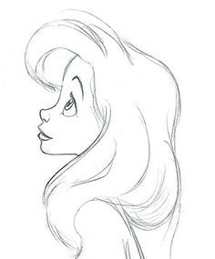 62 Trendy Ideas For Drawing Sketches Disney Doodles Tattoos - zeichnen - Pencil Art Drawings, Cute Drawings, Drawing Sketches, Sketching, Drawings Of Ariel, Drawing Ariel, Drawings Of Disney Princesses, Mermaid Drawings, Art Drawings Easy