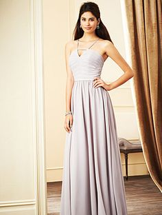 Alfred Angelo Bridesmaid Style 7272L in Moonlight Waltz