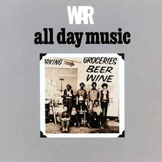 One of the most popular funk groups of the '70s, War were also one of the most eclectic, freely melding soul, Latin, jazz, blues, reggae, and rock influences into an effortlessly funky whole.  Favorite track - Slippin' Into Darkness