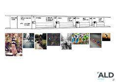 sketch proposal interior design bike shop