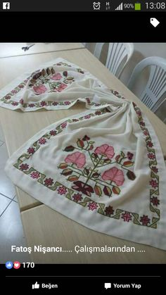 Embroidery, Antiques, Cross Stitch Designs, Dots, Antiquities, Needlepoint, Antique, Old Stuff, Crewel Embroidery