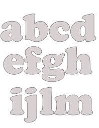 Resultado de imagem para abecedário para imprimir