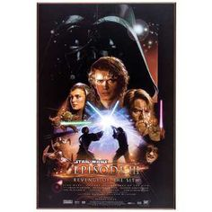 Star Wars Episode III MDF Movie Poster