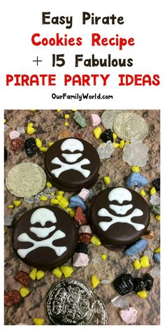 15 Fabulous Pirates of the Caribbean Party Ideas + Pirate Cookie Recipe!