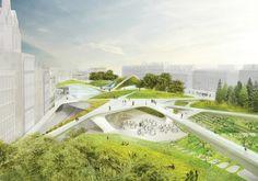 Diller, Scofidio  Renfro's Aberdeen City Garden Redesign