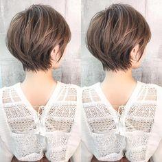 Pin on ショートカット Chic Short Hair, Asian Short Hair, Short Hair Updo, Girl Short Hair, Short Hair With Layers, Short Hair Cuts For Women, Medium Hair Styles, Short Hair Styles, Haircut For Thick Hair