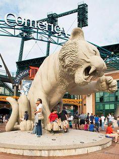 Comerica Park - Detroit Tigers