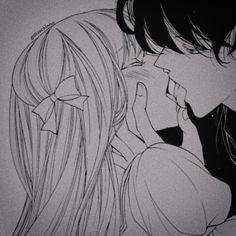 Romantic Anime Couples, Romantic Manga, Cute Anime Couples, Manga Couple, Anime Love Couple, Gothic Anime, Yuri Anime, Anime Couples Drawings, Anime Kiss