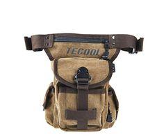 TECOOL® Outdoor Sporty Fanny Pack Cycling Waist Bum Belt…