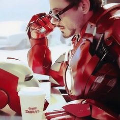 Everyone wishes they looked this good while drinking coffee! Found on: fuckyeahstony.tumblr.com #Monday #Coffee Discover our cleaning products Power Clean and its super cleaning powers --> http://www.emtec-international.com/en-eu/cleaning_powerclean_subrange #Cleaning #SuperHeros