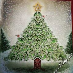 Christmas coloring inspiration