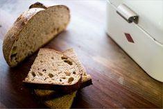 Pão 100% integral com fermentação natural