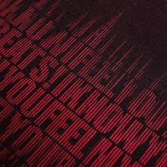 アルファベットや音波をモチーフにデザインしたファブリック。カーテンやクッションなどのインテリアファブリックに。綿100%のカツラギ生地。厚手なのでバッグなどの小物にも使えるよ。 In A Heartbeat, Neon Signs, Fabric, Tejido, Tela, Cloths, Fabrics, Tejidos