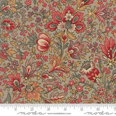 Madame Rouge by French General  Floral by PureJoyPatterns on Etsy