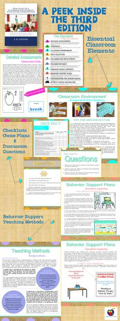 Tips for setting up your classroom. A peek inside. #ThirdEdition