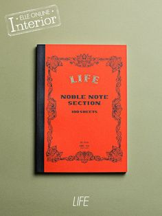 LIFE notebook