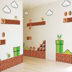 Super Mario Bros Wall Stickers