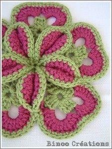 Starburst Hot Pad Pattern - maak van uw keuken een kunstwerk! #crochet