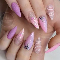 30 Fabulous Pointy Nail Designs To Try