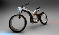 BullTron bicycle concept uses an electric motor