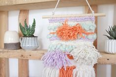 Super Tassel Woven Wall Hanging