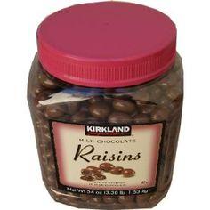 Who Makes Kirkland Chocolate Covered Raisins