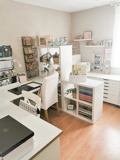 Home Office Space, Studio Room, Room Design, House Rooms, Craft Room Design, Aesthetic Room Decor, Home, Sewing Room Design, Home Office Design