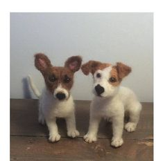 *Custom dog and pet portrait sculptures are individually hand needle felted by me using your own dog or pet photographs . *Price is per sculpture. *The listing photo shows samples of my felted Jack Russell terrier dogs and this particular dog has a home already. I can make a felted Wool Needle Felting, Needle Felted Animals, Felt Animals, Felted Wool, Dog Crafts, Felt Crafts, Frozen Dog Treats, Felt Dogs, Pet Photographer