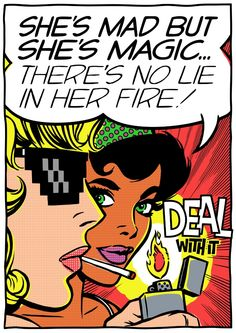 Mad and Magic Art Print