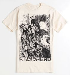 Radiohead Scribble T-shirt @ Eureka Online Store $18.95 #radiohead #rock #music BUY THIS NOW
