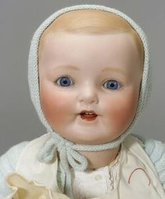 Very Large Bisque Head Vanta Baby 1920s beautiful face