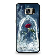 Enchanted Rose Beauty And The Beast Samsung Galaxy S7 Edge Case | yukitacase.com