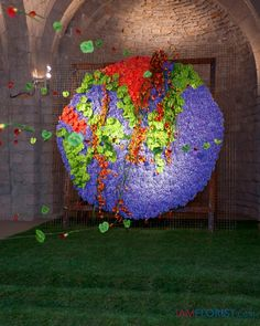 The world made with foam, Hydrangea, anthuriums and callas. girona_Jordi_y_noria-1378.jpg 639×800 pixels