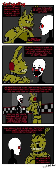 Springaling 78: There's a hole in the world by Negaduck9.deviantart.com on @DeviantArt