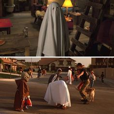 "Eleven dressing up and ""hiding"" as a ghost on Halloween is a direct reference to Steven Spielberg's E.T."