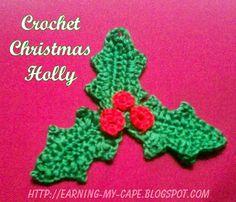FIFIA CROCHETA blog de crochê : estrela de natal em crochê com tutorial