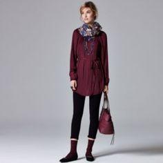 Simply Vera Vera Wang Fall Collection Look 20 - Women's